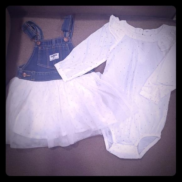 OshKosh B'gosh Other - Oshkosh Overall Dress size 18mos